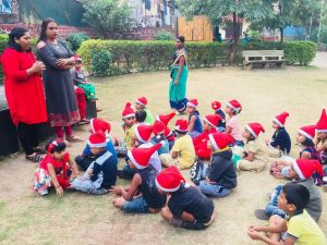 POCSO Act 2012 Session for the children, organized by the transgender NGO during the Christmas season
